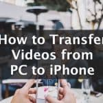 how to trasfer photos from PC to iphone