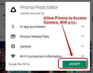 Grant Prisma Access to Media and Internet