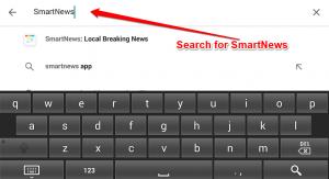Download SmartNews for PC - Search For SmartNews