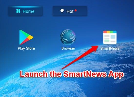 Launch SmartNews